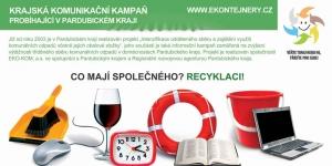 Plakát na podporu třídění odpadu