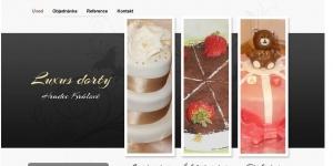 Web pro luxusní dorty