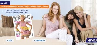 Soutěž NIVEA s žena a život