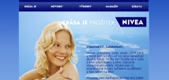 NIVEA Sun newsletter