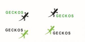 Logo pro projekt Geckos