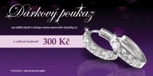 Dárkový kupon pro eshop Swarovski-doplnky.cz