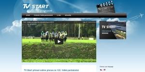 WWW stránky pro TV Start