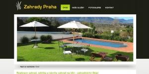 Realizace zahrad v Praze