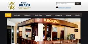 Redesign pro Hotel Bravo
