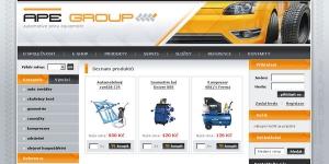 Web + eshop pro Apegroup s.r.o.
