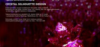 Pozvánka na tiskovku Samsung Crystal Silhouette