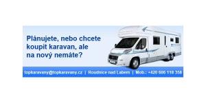 Banner pro půjčovnu karavanů